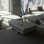 ניסור בטון וקוביות בטון לאחר הניסור